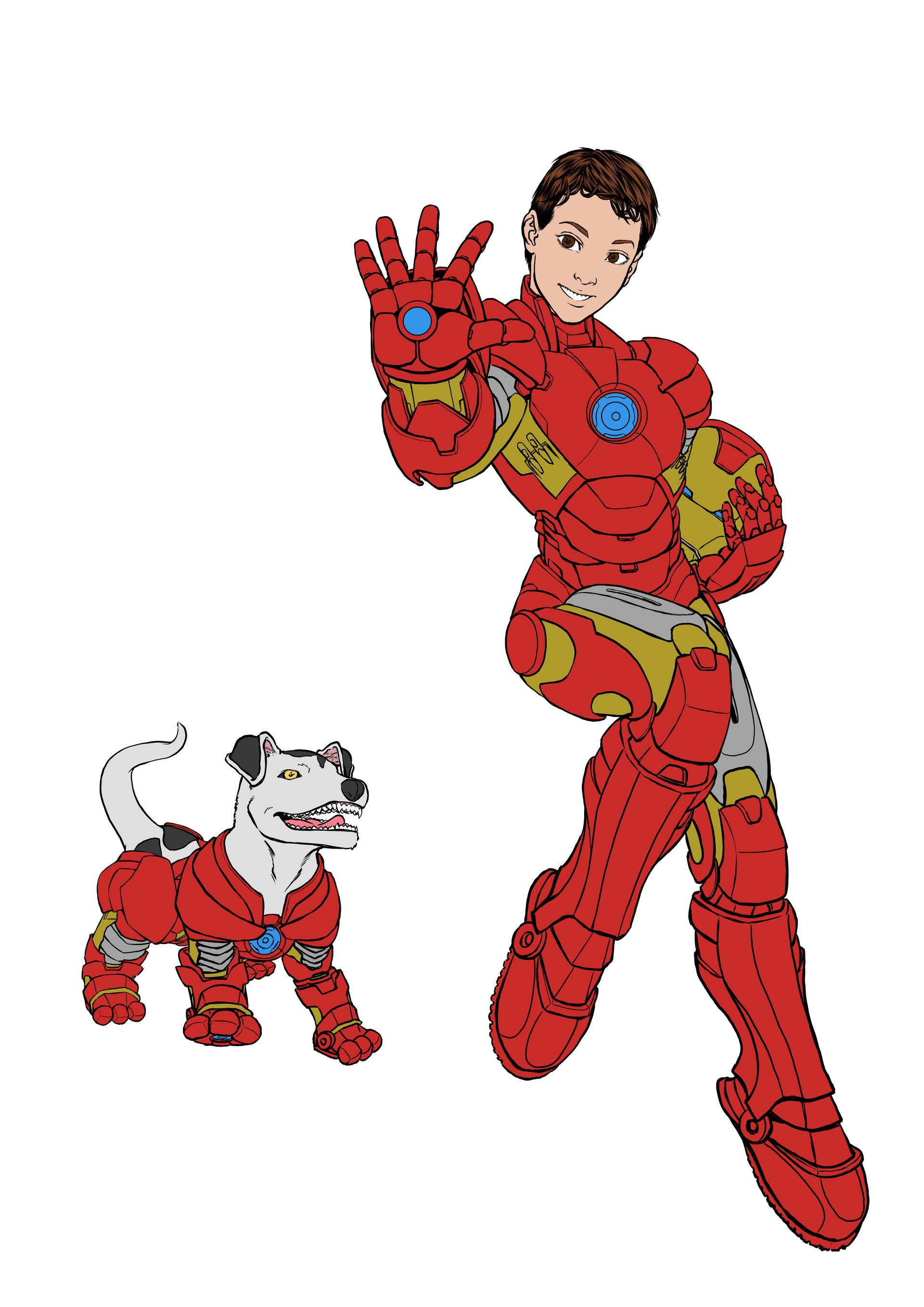 Gustavo melo flat iron boy
