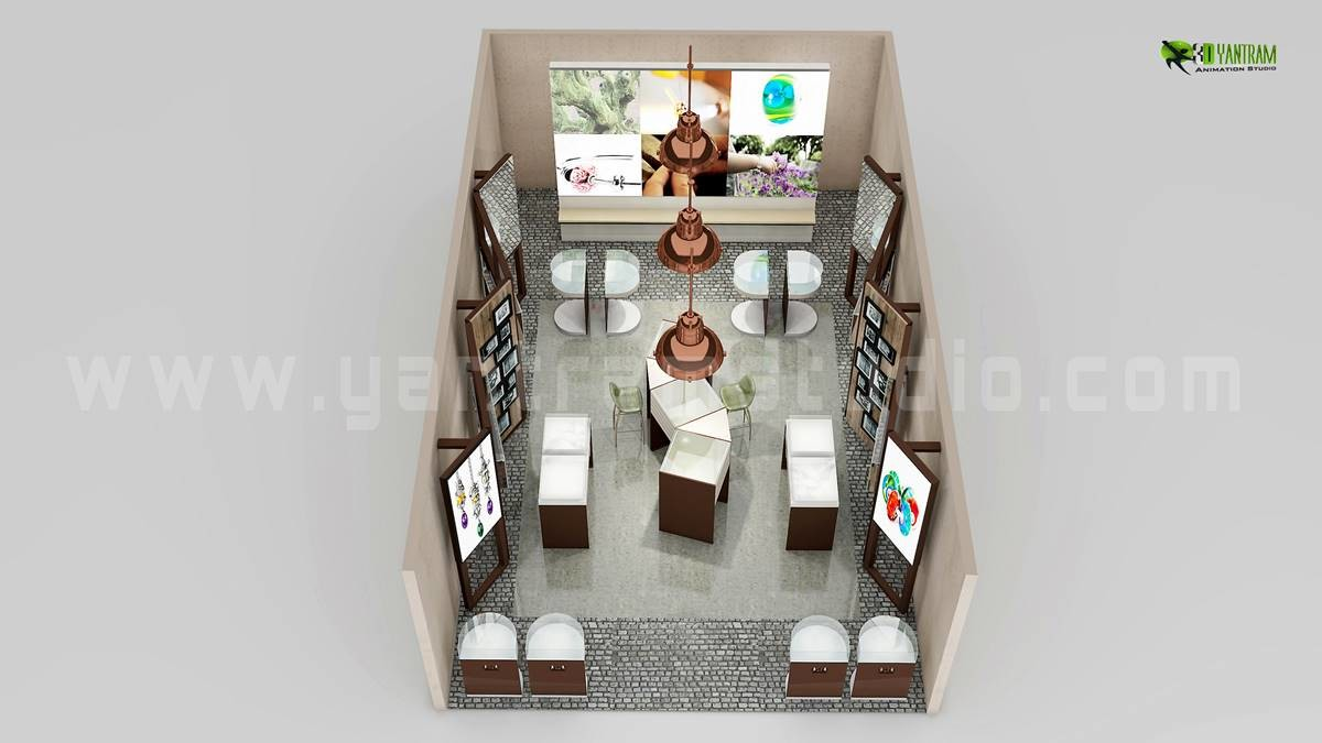 Artstation Beautiful Modern 3d Floor Plan Visualization New York Yantram Architectural Design Studio