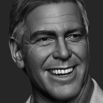 George Clooney - WIP