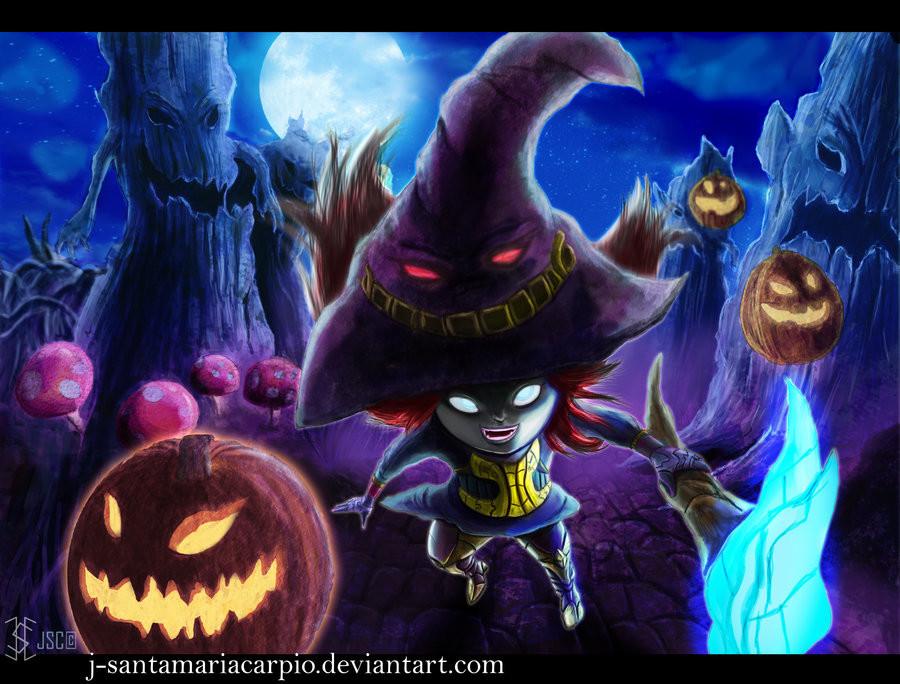 Javier Santamaria Carpio - League of legends Lulu halloween skin