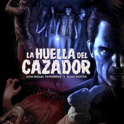 Elias santos poster promocional la huella del cazador by santosart d8gerst