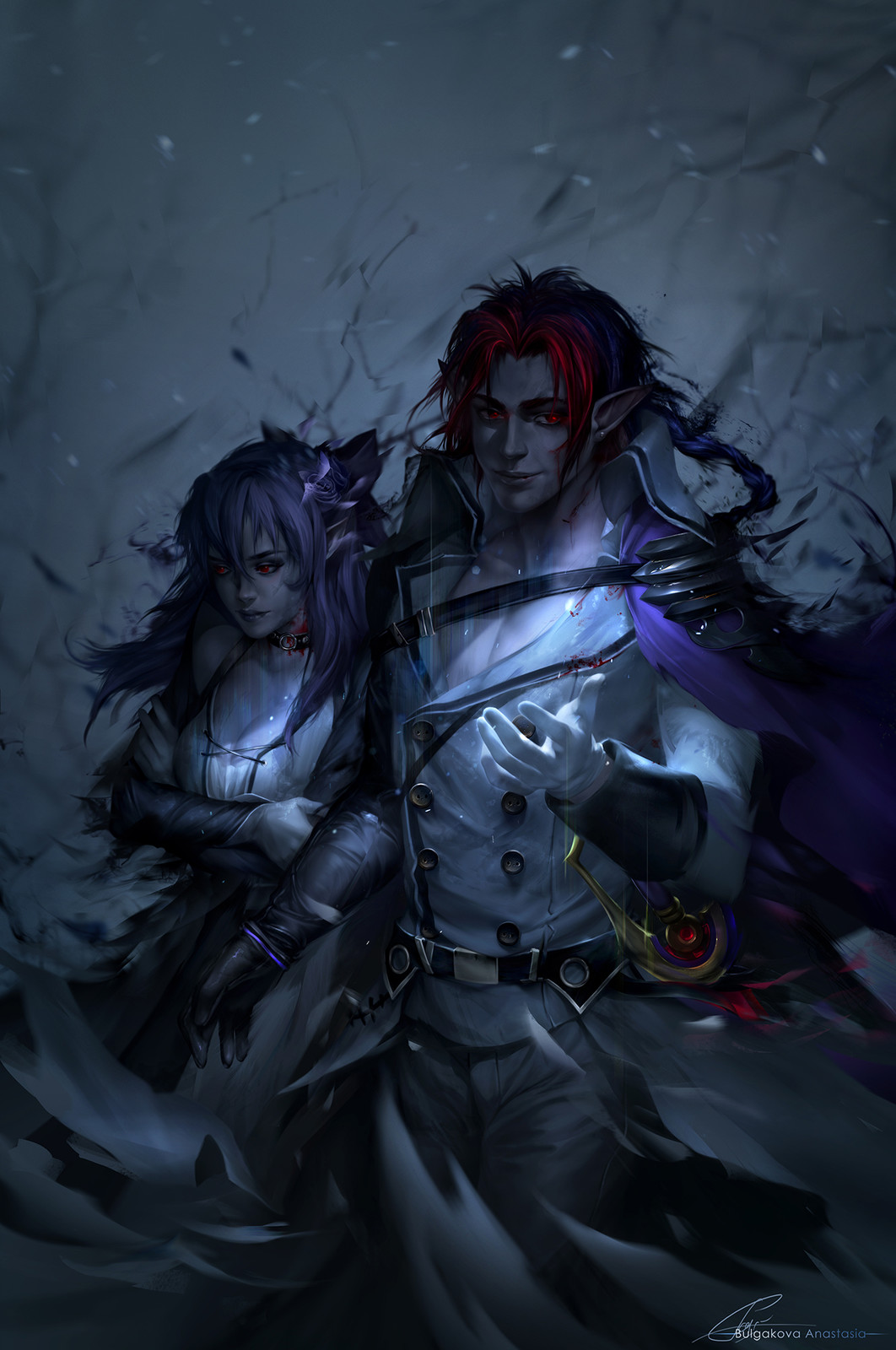 Owari no Seraph: Crowley/Shinoa