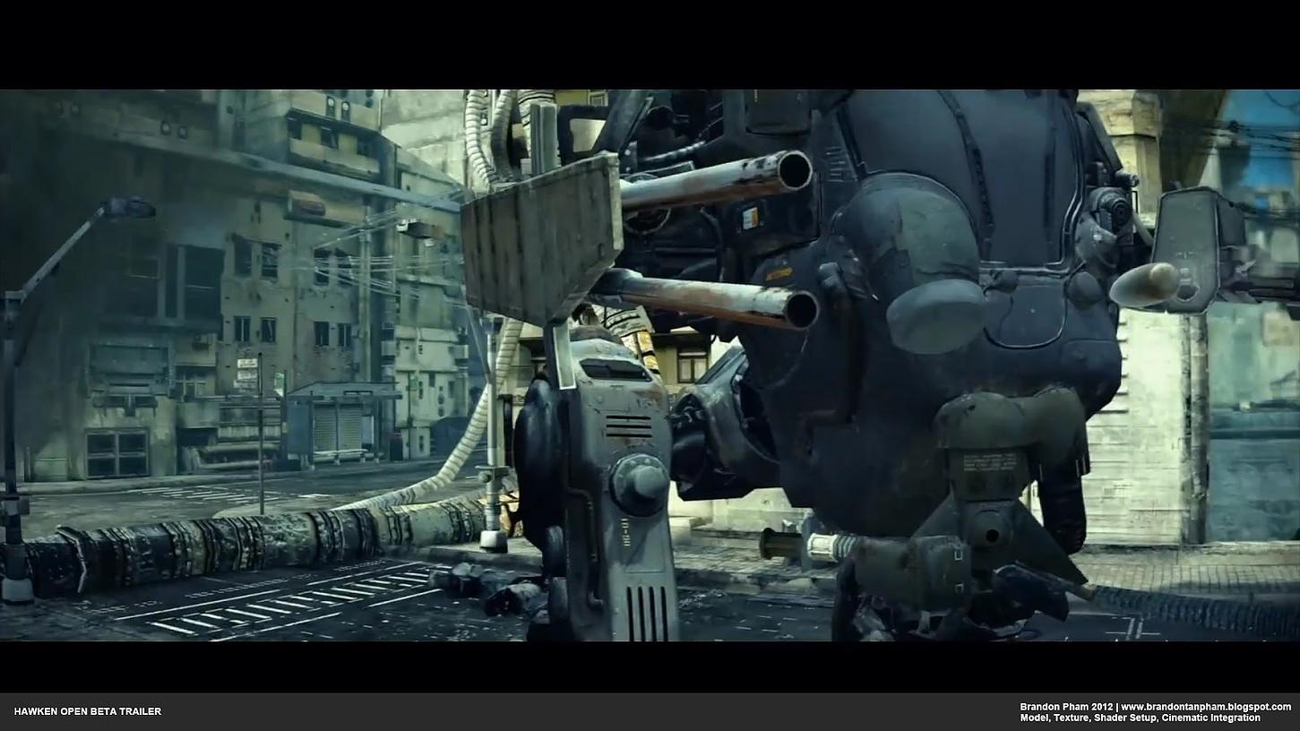 H.A.W.K.E.N. Beta Trailer