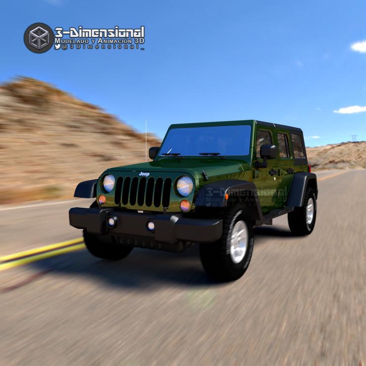 169 ϸ� 3 Dimensionarte Jeep Wrangler 2007