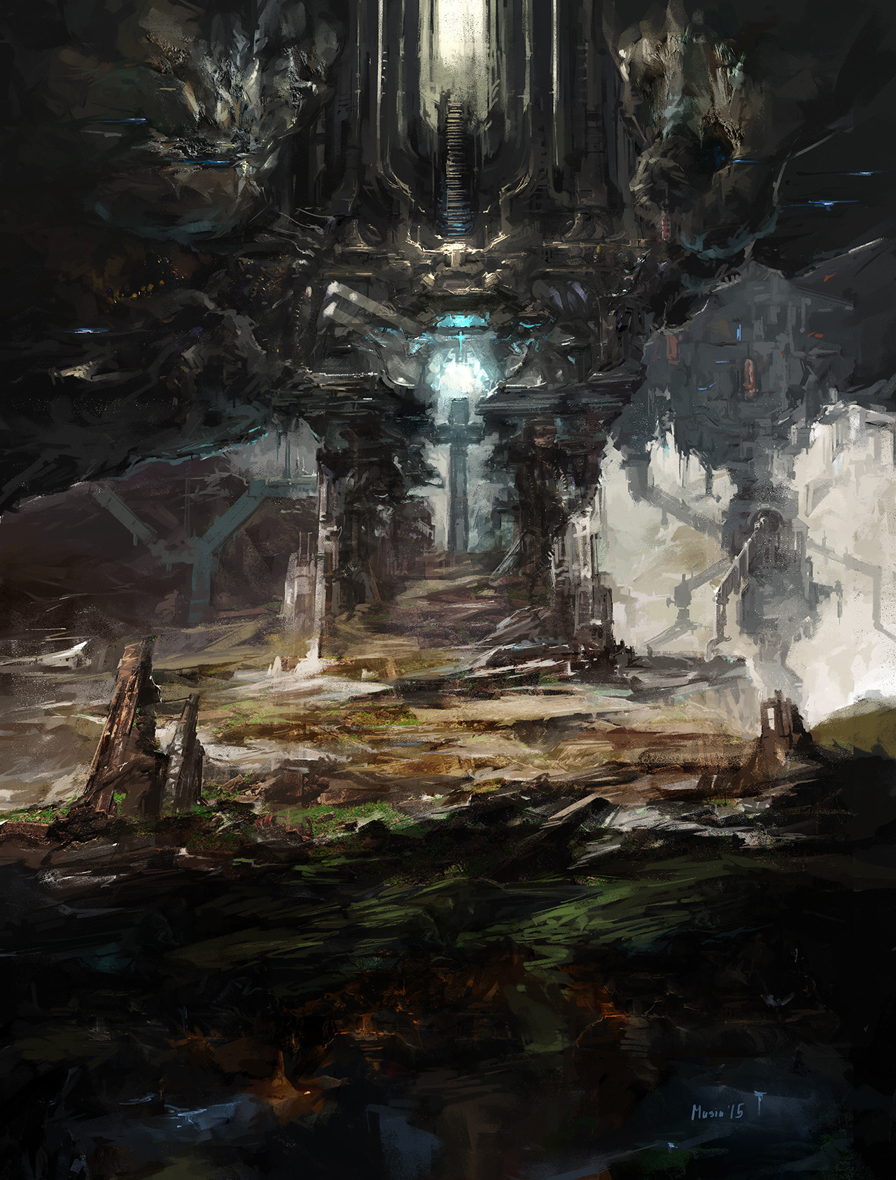 Sergey musin anomaly cave concept