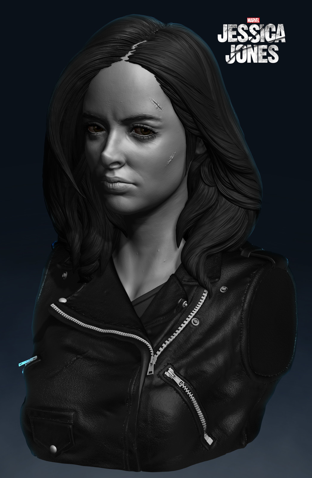 Jessica Jones Fanart Sculpt