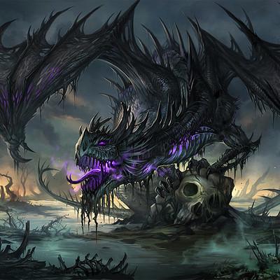 Sandara tang black dragon by sandara
