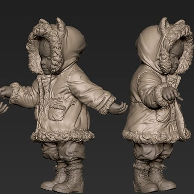 Zhelong xu terada s dragon girl zbrush screenshot2