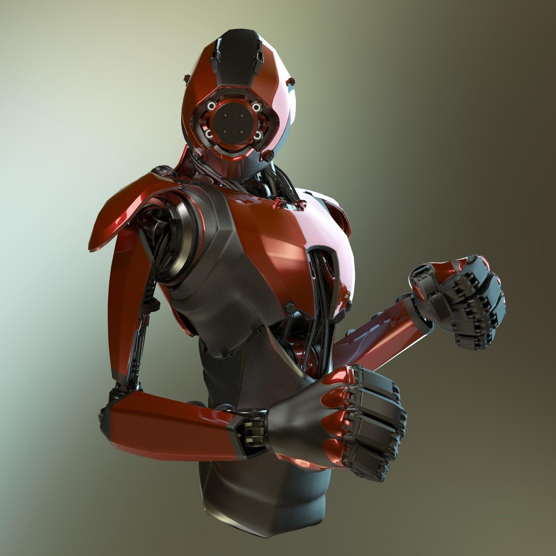 Jerry perkins mx1001 robot day7 4