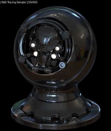 Jerry perkins mx1001 shaderball