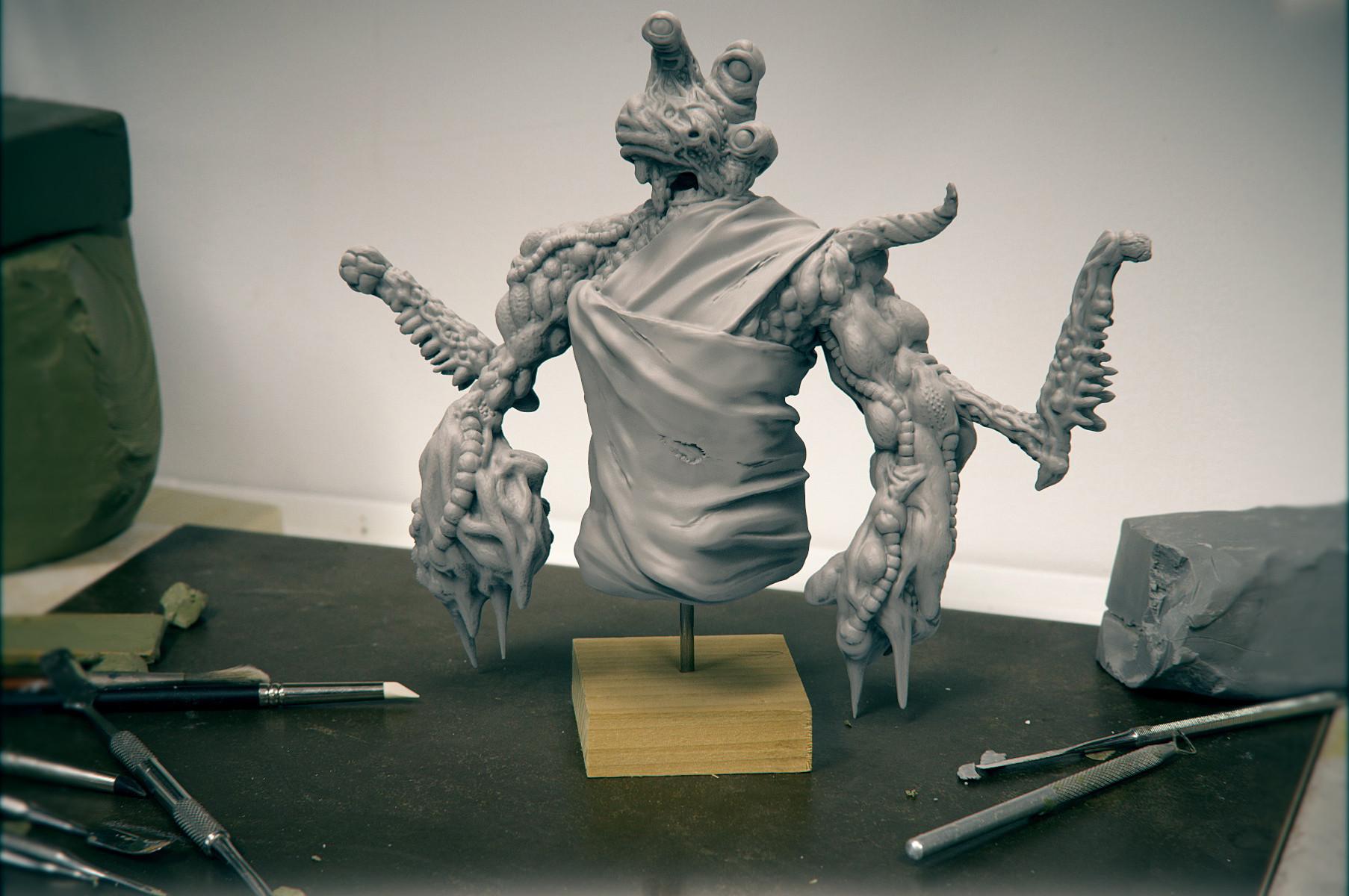 Andrew krivulya render sculpt