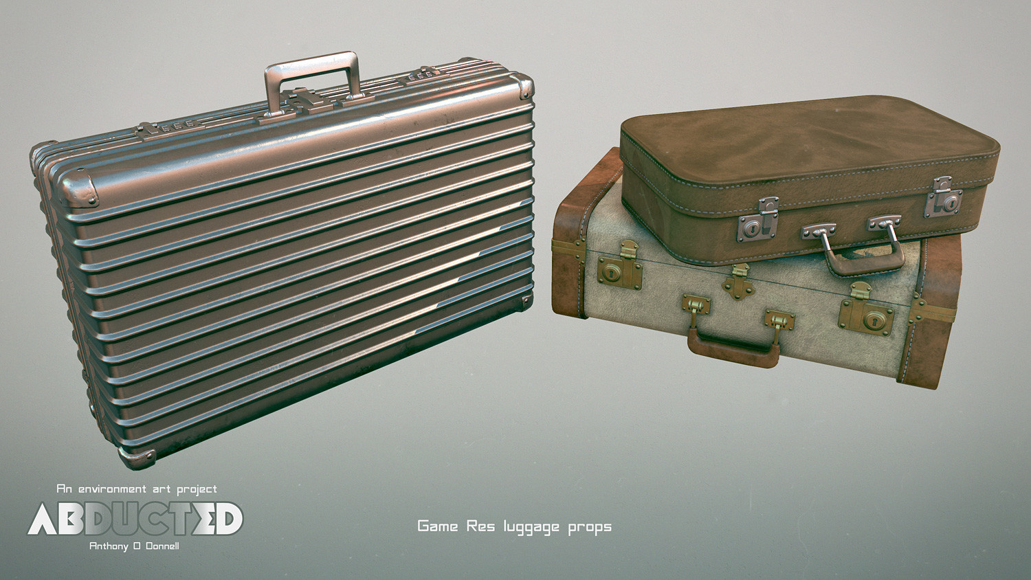 Game res suitcases