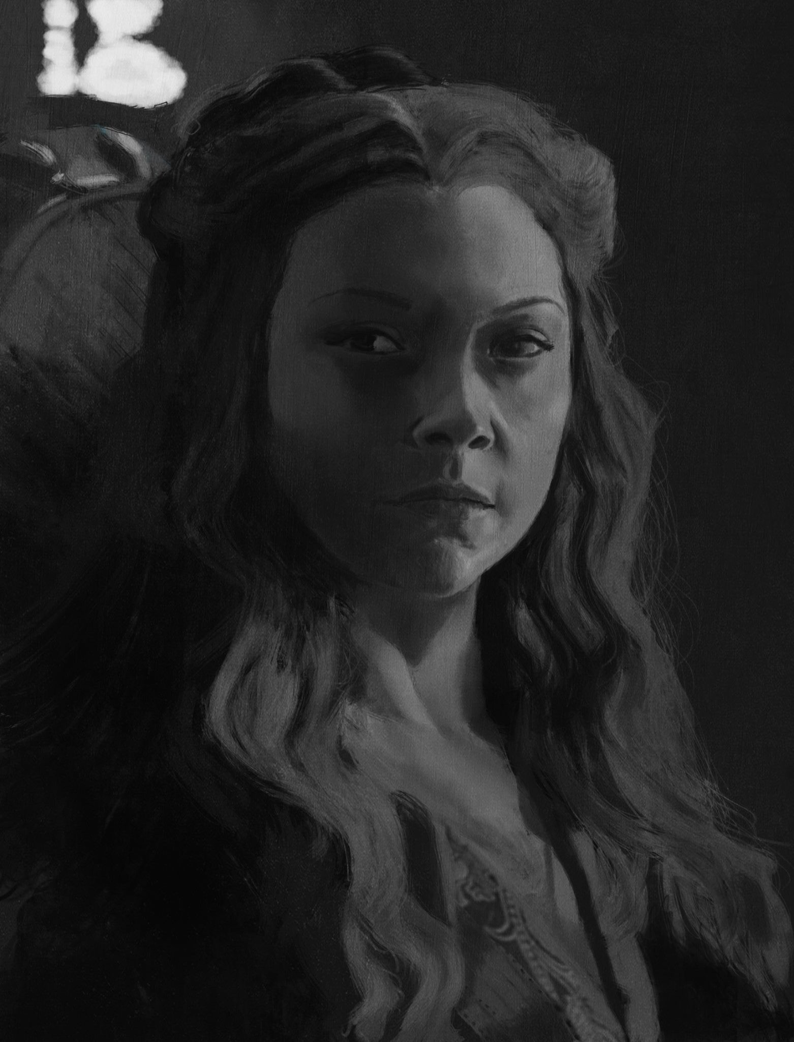 Game of Thrones Margaery Tyrell Sketch