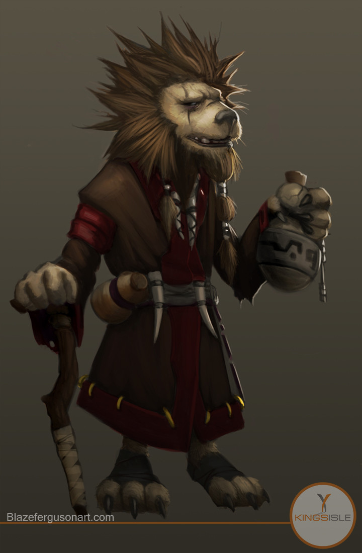 ArtStation - Wizard 101 - Character Concepts, Blaze Ferguson