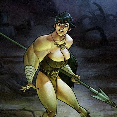 Alberto camara huntress swamp2
