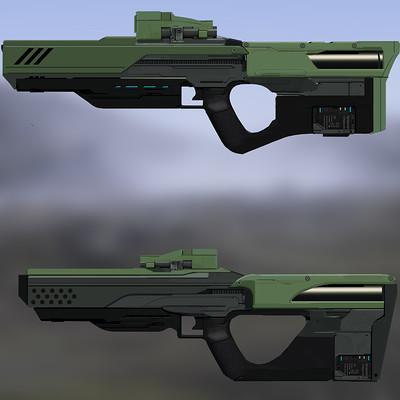 Timo peter gun render iterations 2