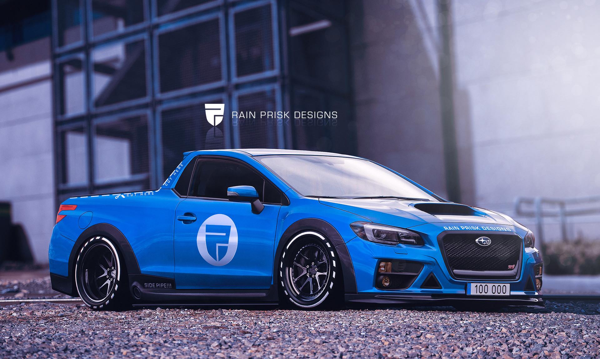 Subaru ute 2016