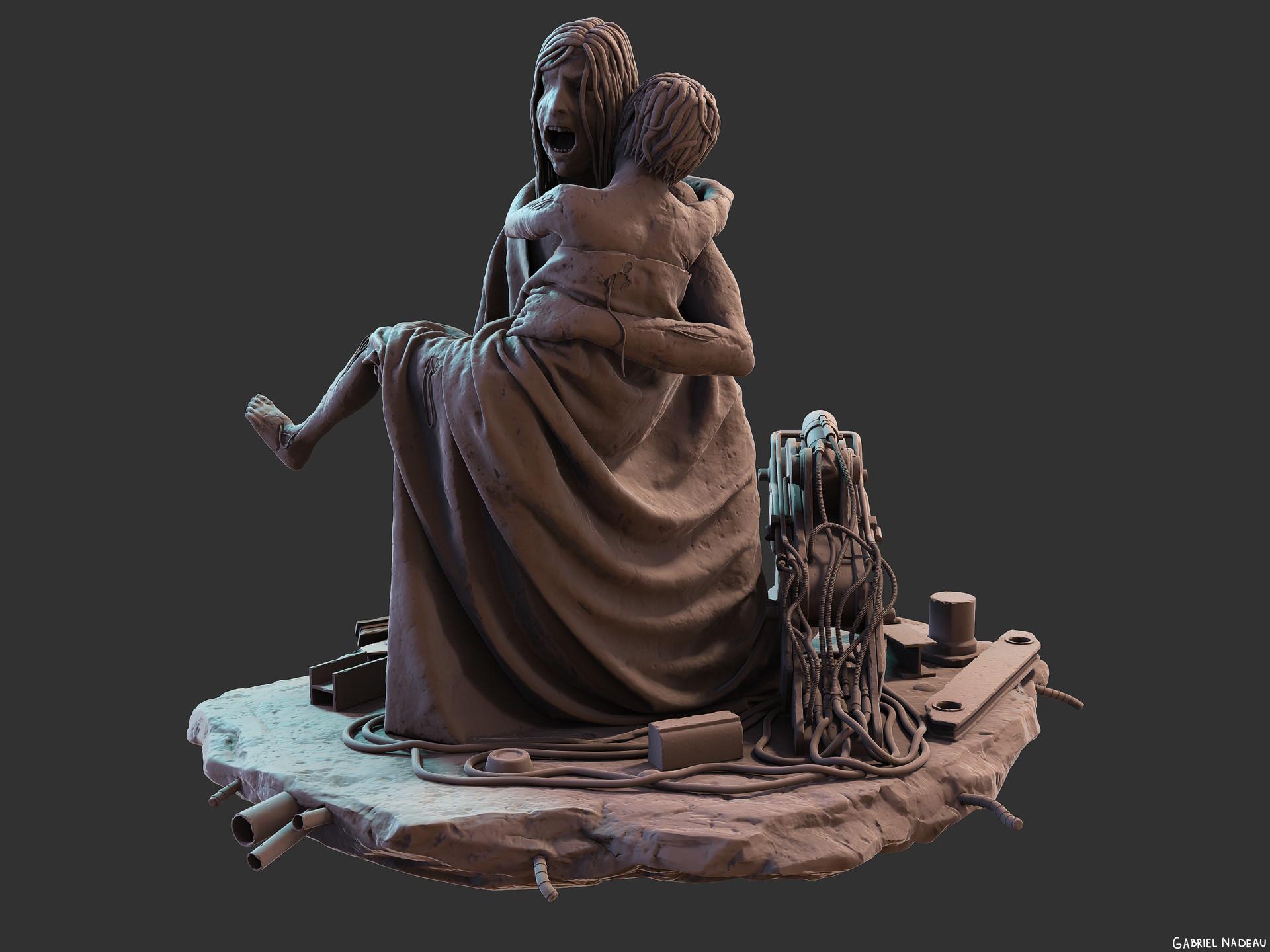 Gabriel nadeau statue final 16