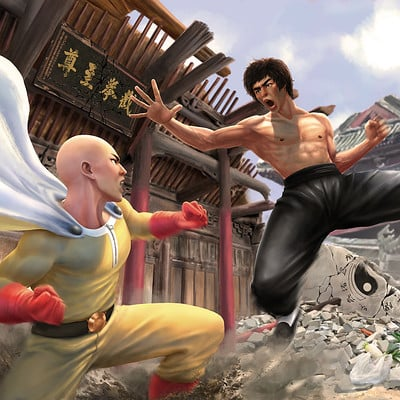 Tan kwang yang tanky one inch punch man web