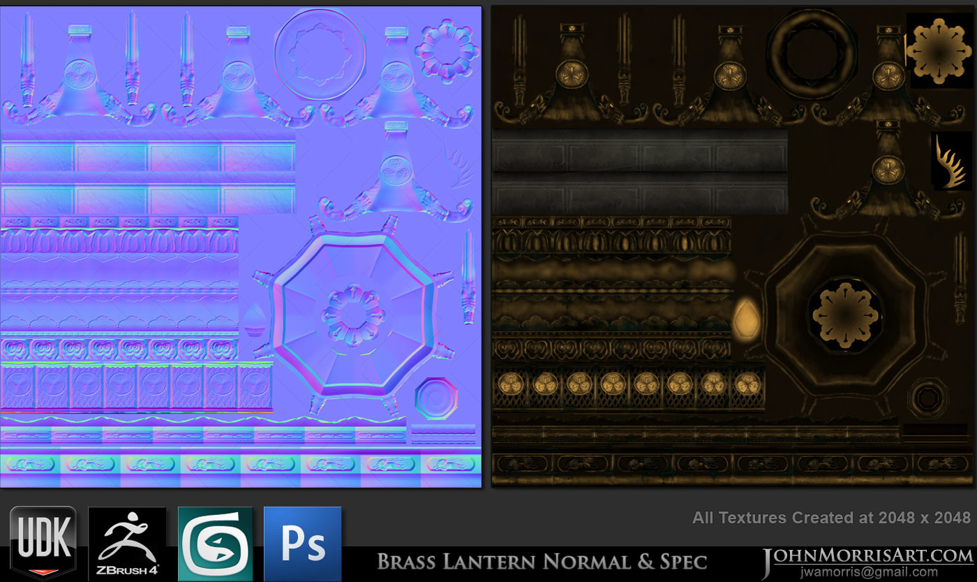 Normal and Specular Maps