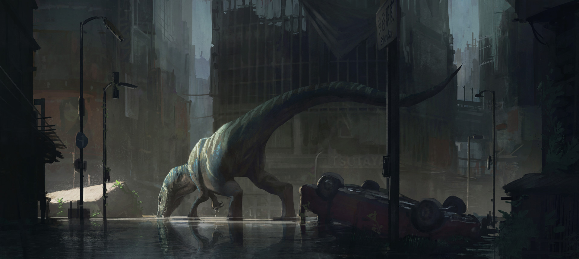 Julien gauthier baryonyx in tokyo