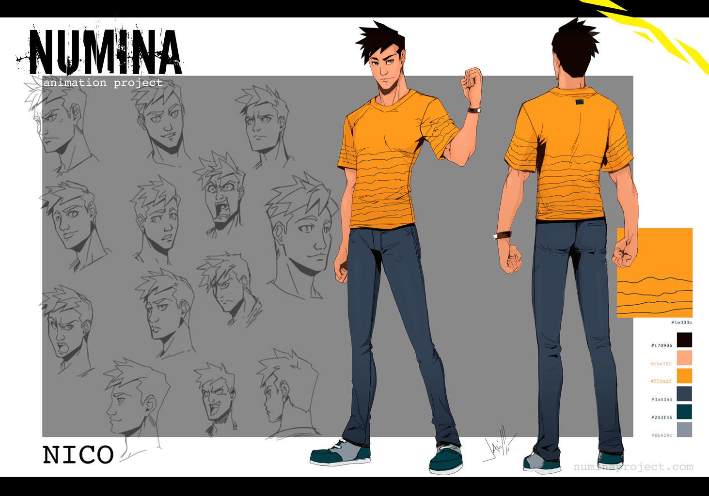 Javier bolado nico character sheet