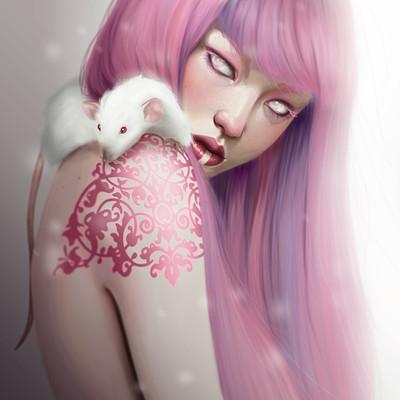 Marta g villena lady of rats pink