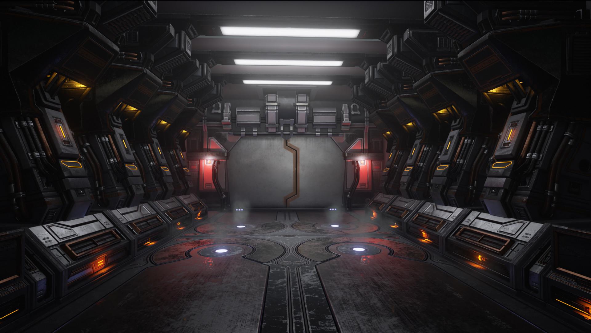 Roger Abell 243 Sci Fi Corridor Ue4