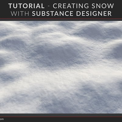 Joshua lynch substance designer snow thumbnail page