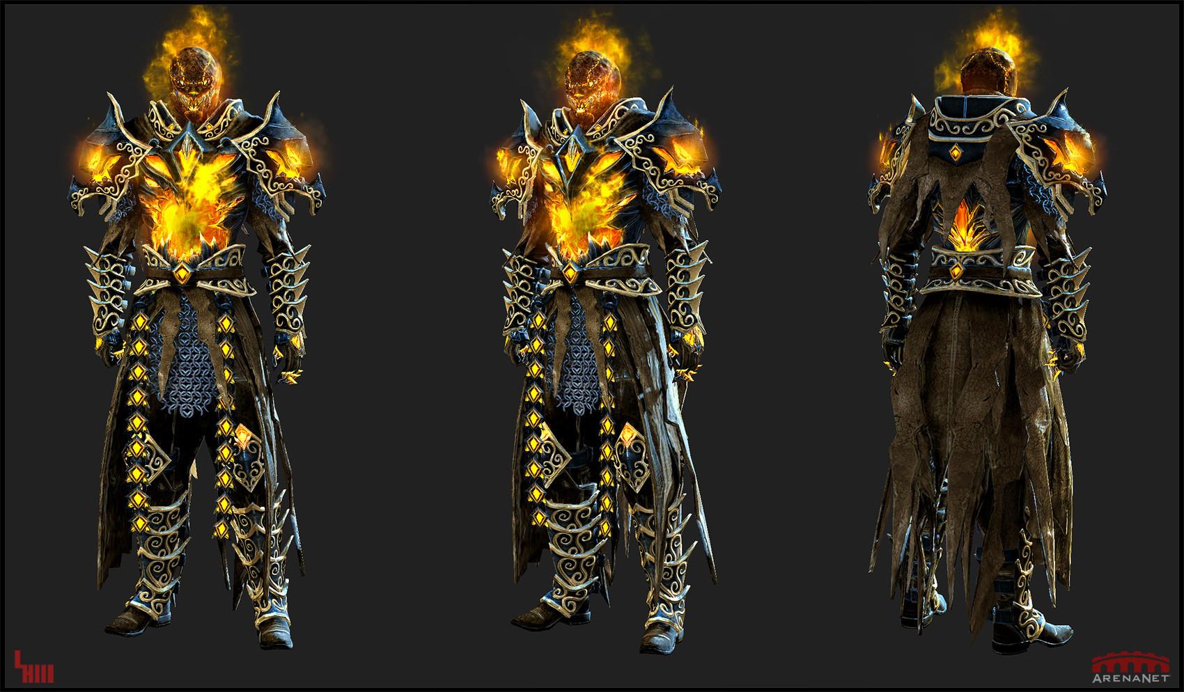 Lunatic Guard Outfit (Helmet,Coat)