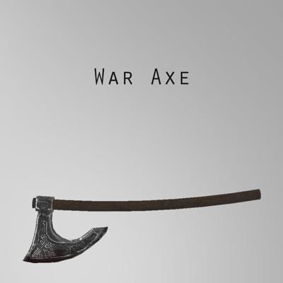 Victor anus war axe