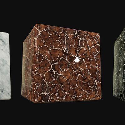 Romain pommier marble cube
