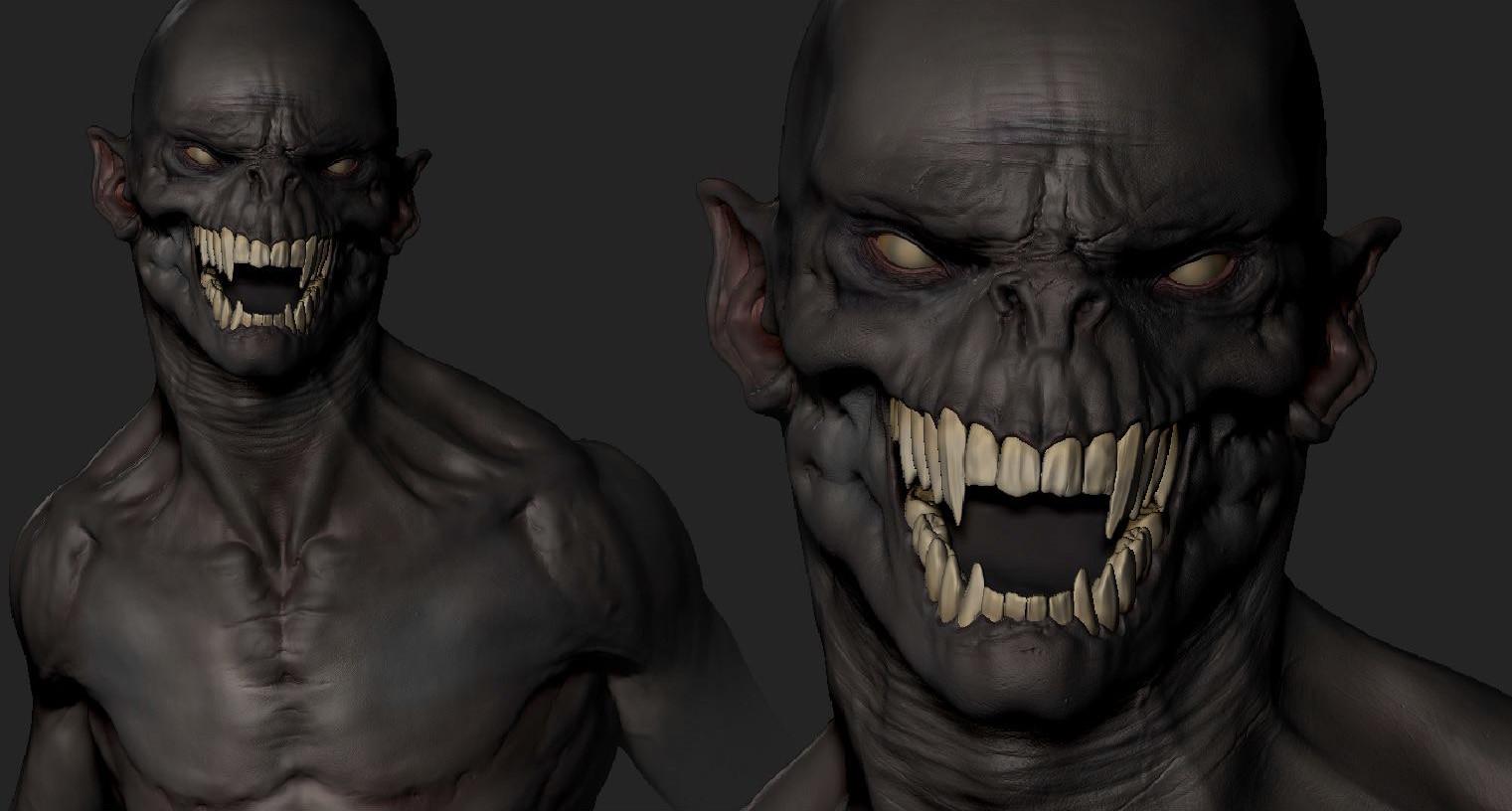 Andre castro vampire