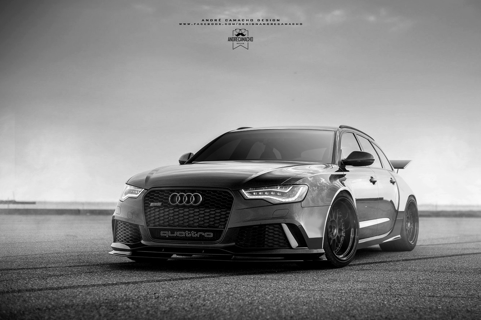 Andre camacho design audi rs6 black