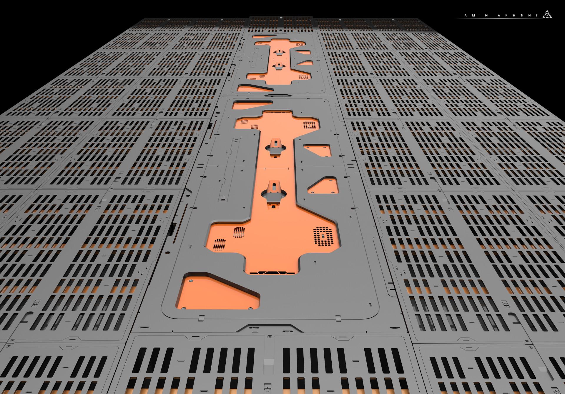 Amin akhshi sci fi floor panels 007