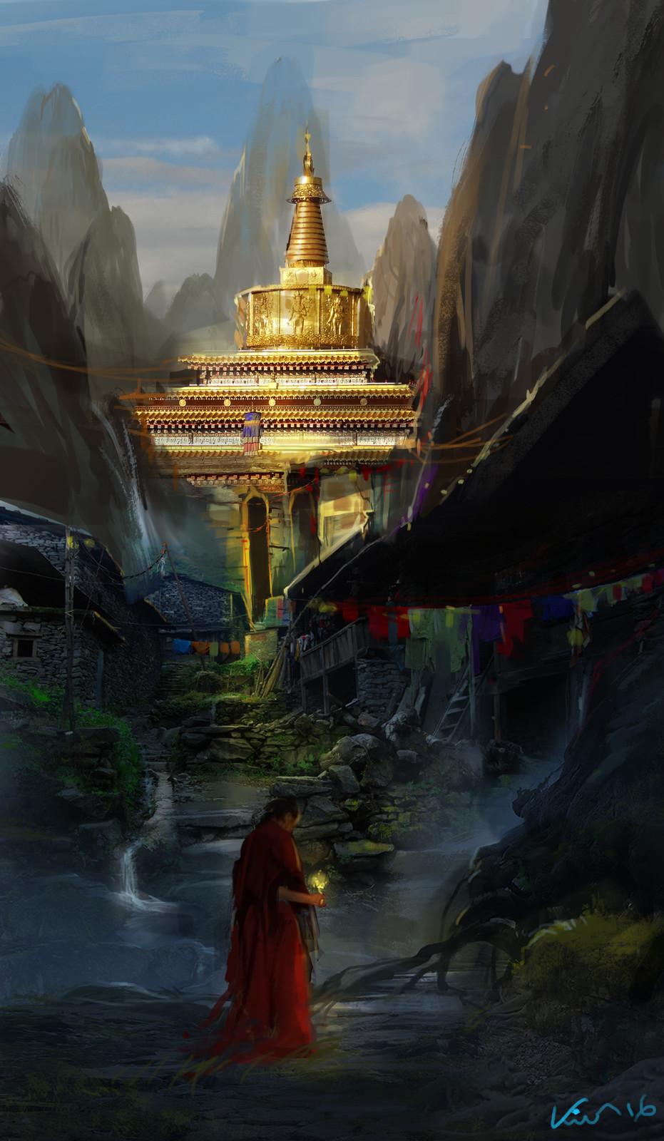 Buddha temple native