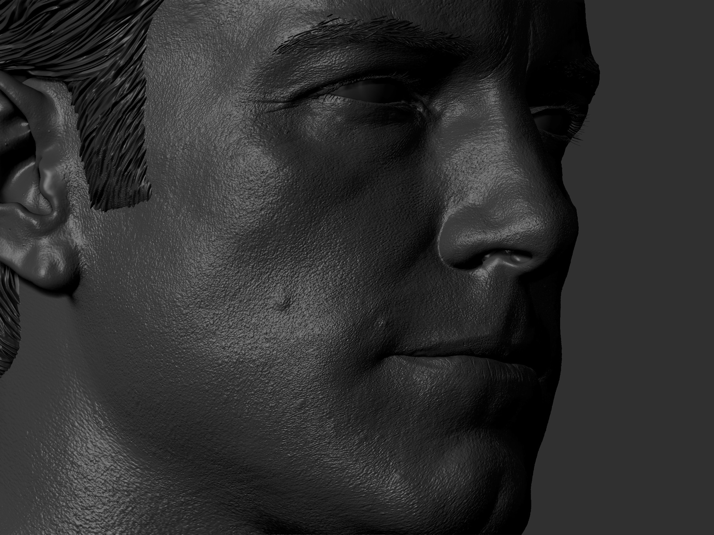 used Texturing XYZ for skin pores