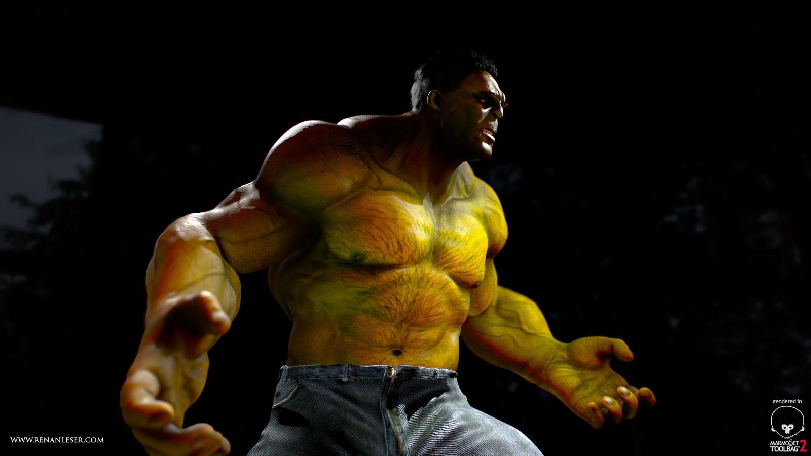 Hulk ZBrush