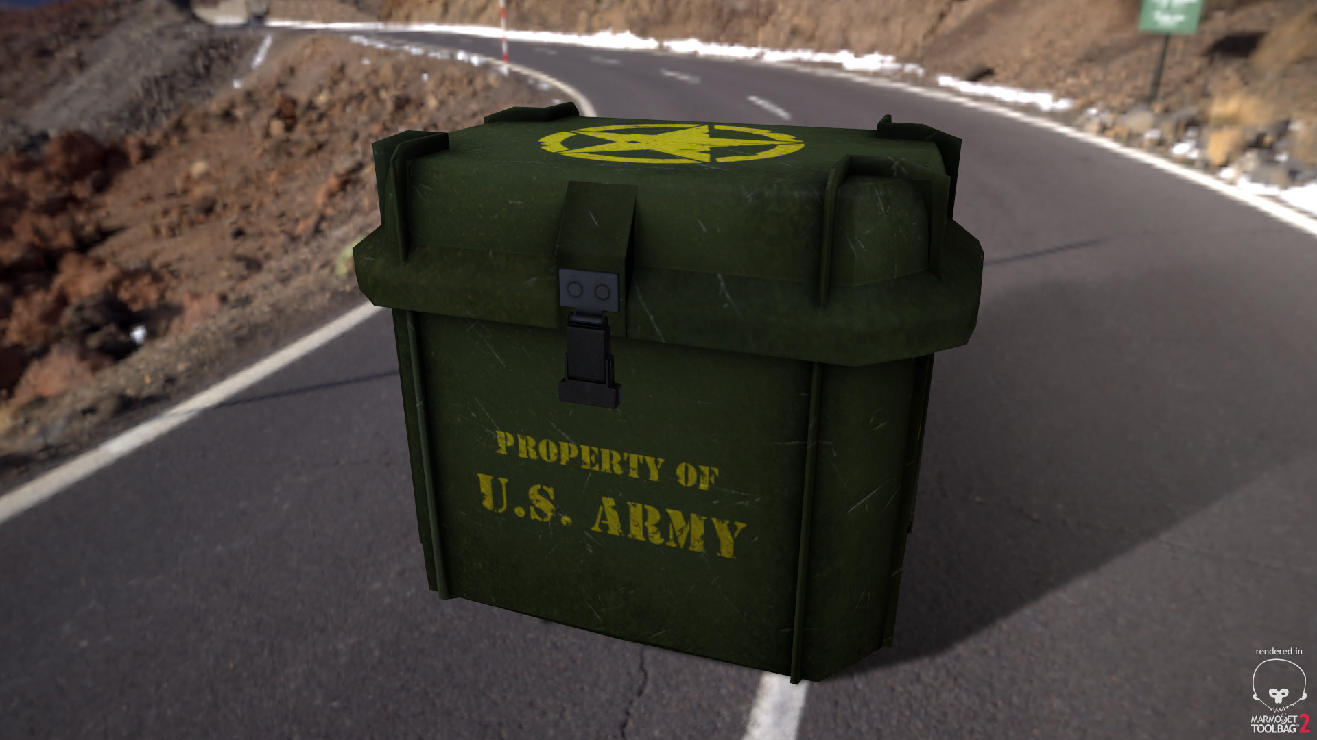 Alex natali army crate