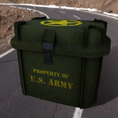 Alex natali army crate