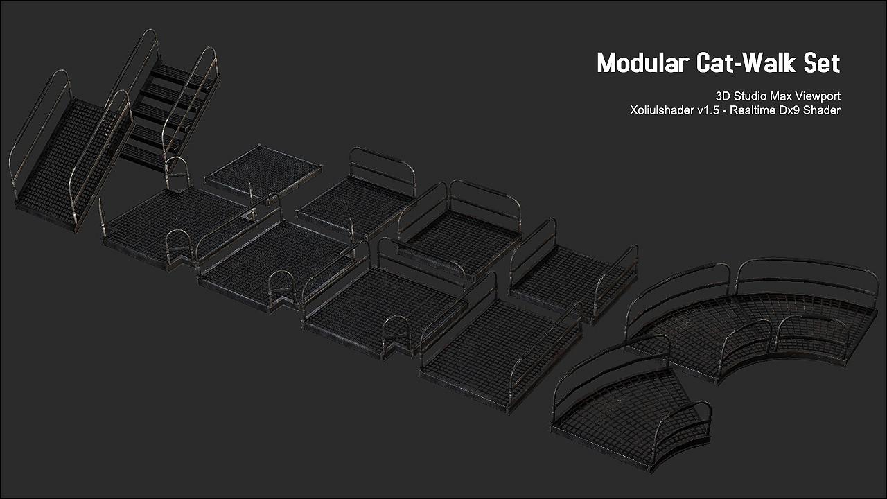Waqas iqbal modularcatwalk render 02