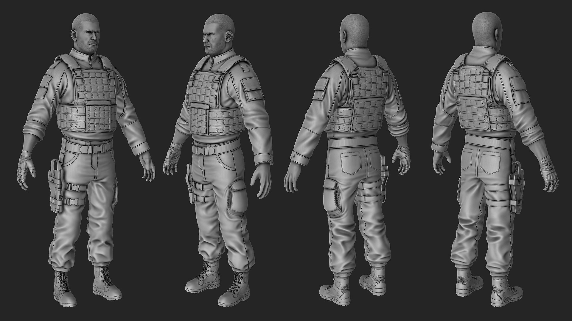 Waqas iqbal soldier highres wip 02