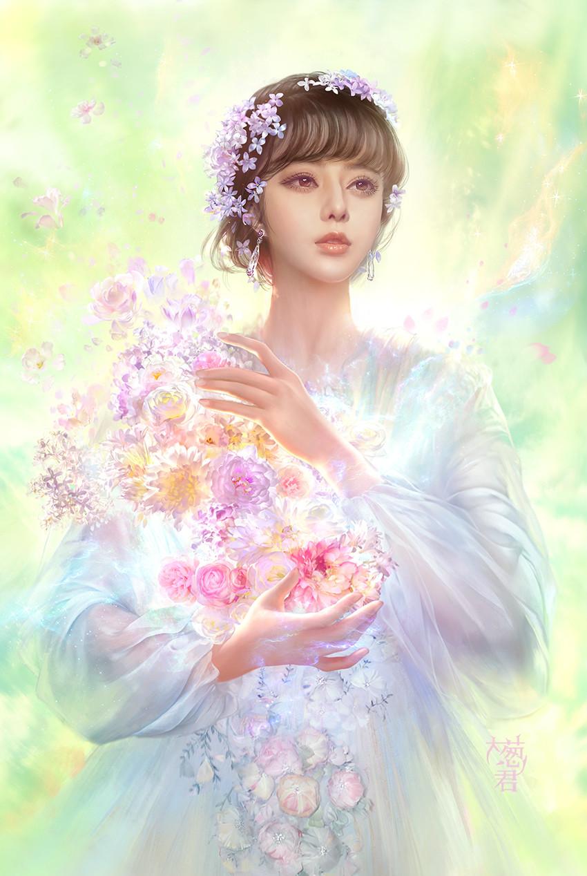 The Flower Angel