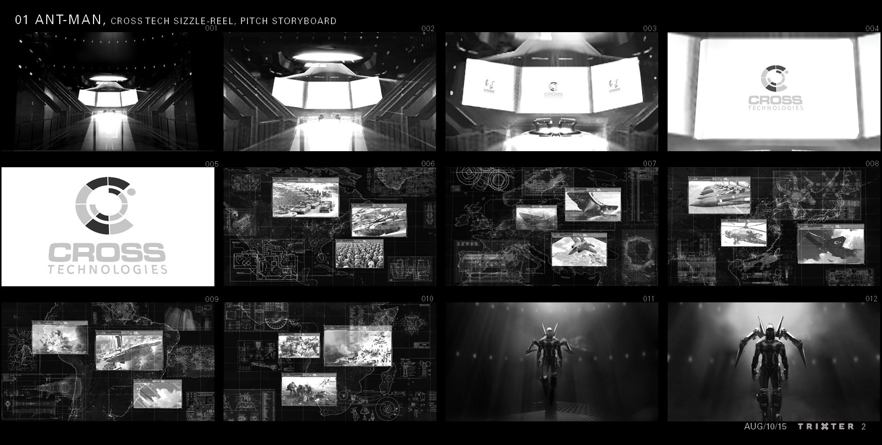 Paolo giandoso ant man cross tech sizzle reel pitch stb page 02