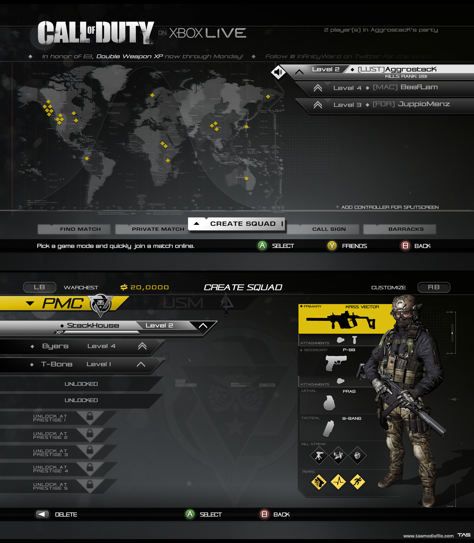 Thomas a szakolczay codghosts multiplayer uiconcept tasmediafile
