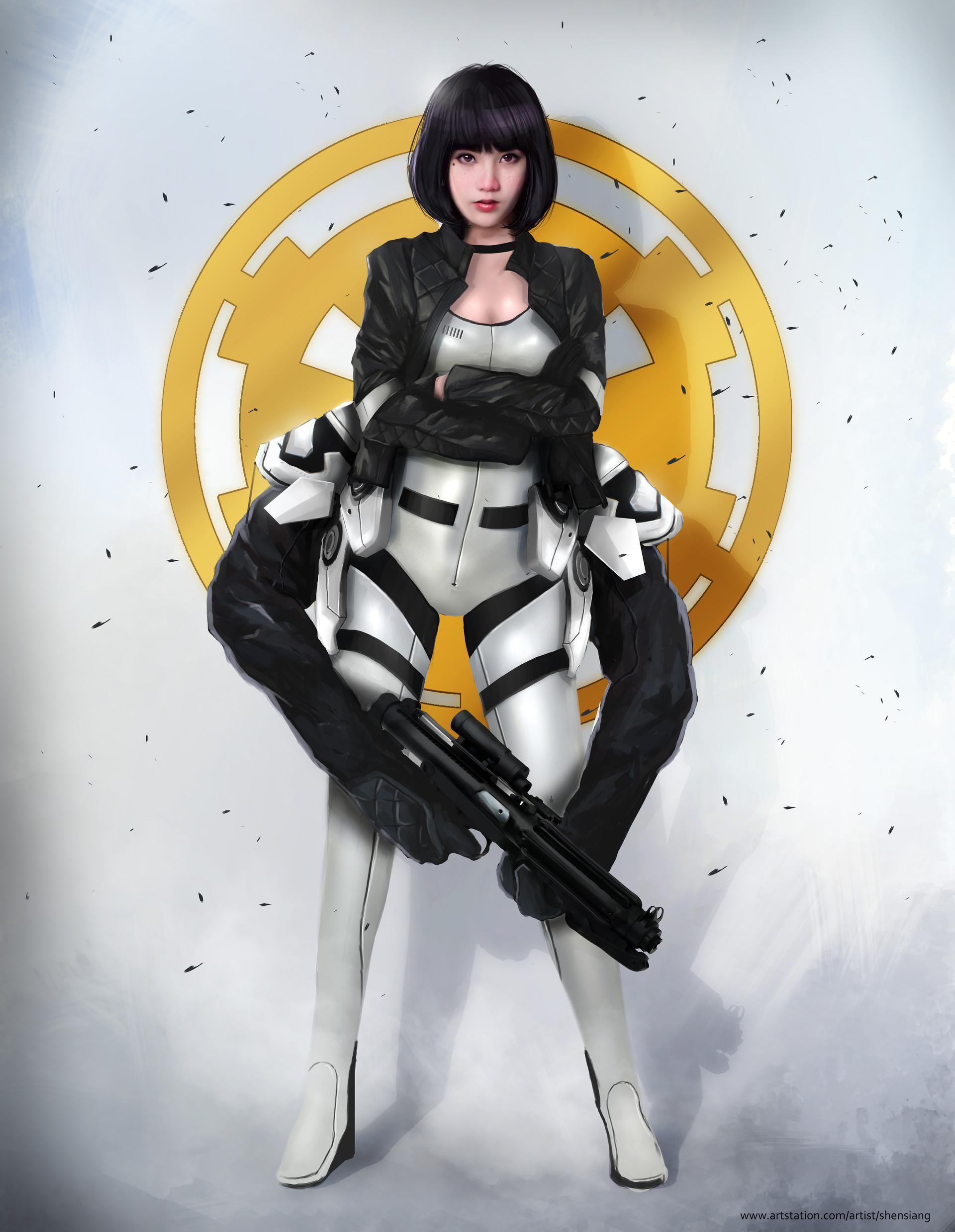 Stormtrooper Fan Art | Sante Blog