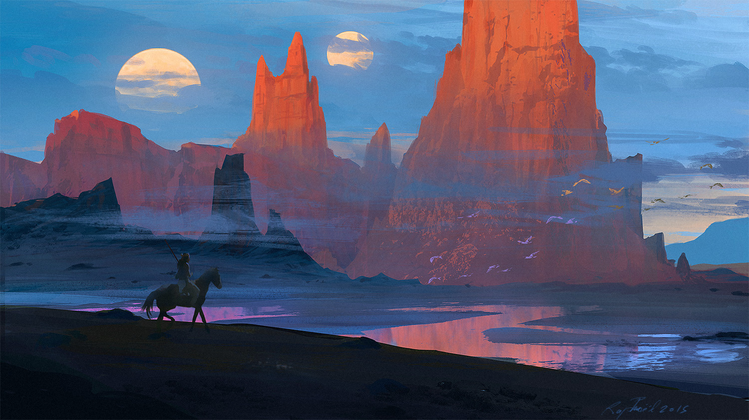 Raphael lacoste alien indian