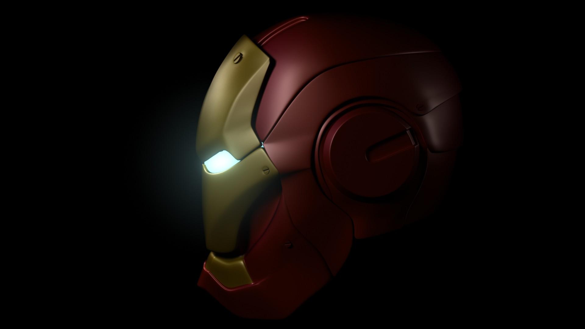 Juan Navarro Iron Man Helmet