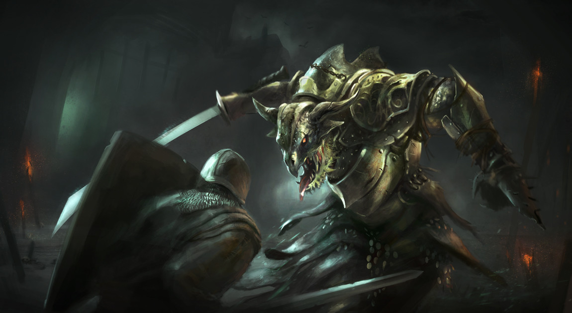 Kim van deun reptile clan warrior kimvandeun
