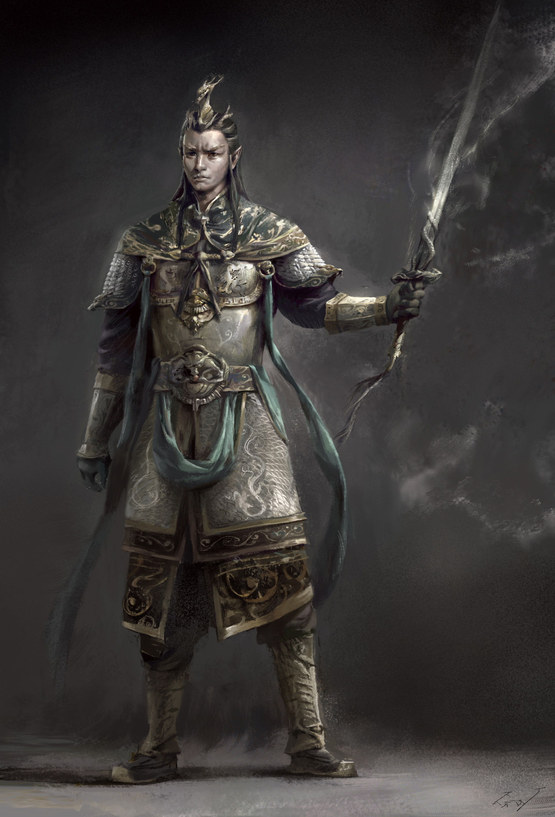 Fantasy King Concept Art